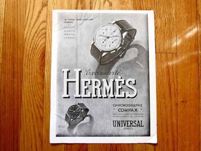 エルメス(Hermes) ユニバーサ・ジュネーブ時計のカタログ