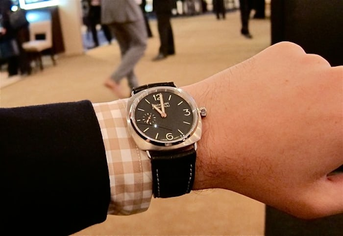 The Panerai 338 Small And Thin With An In House Movement The