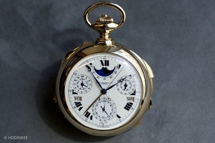 "Henry Graves Patek ""Supercomplication."""