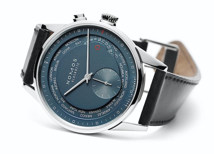 Introducing The Nomos True Blue Zurich Weltzeit A Favorite