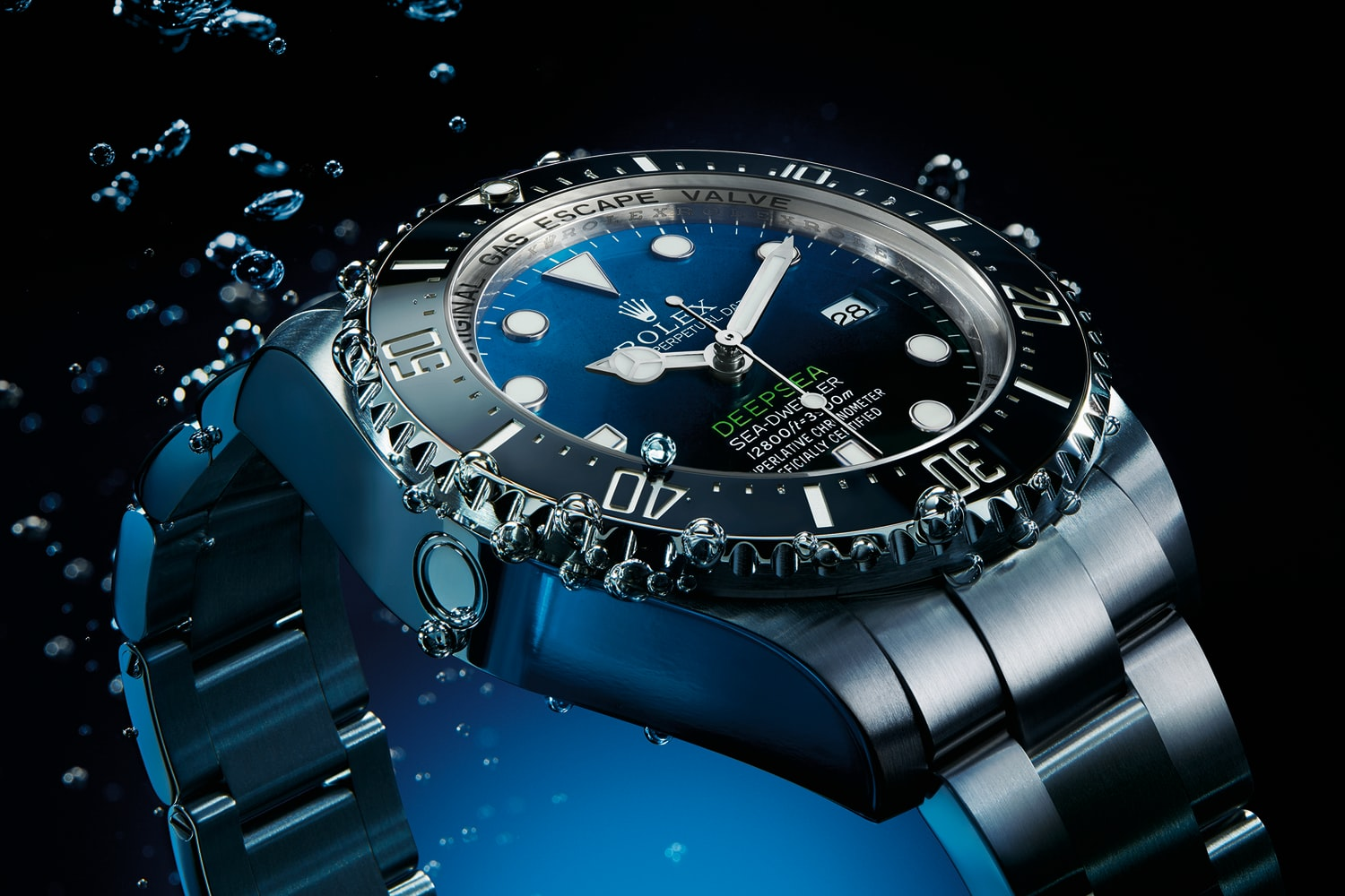 Introducing The Rolex Deepsea Sea Dweller With D Blue Dial