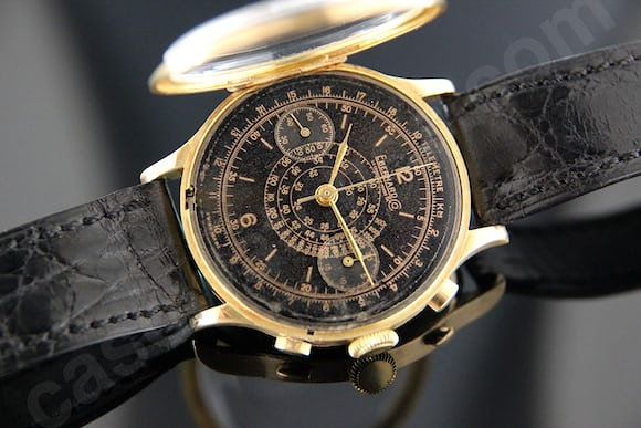 Bring a loupe six timepieces with at least a touch of gold for A 5000 7806