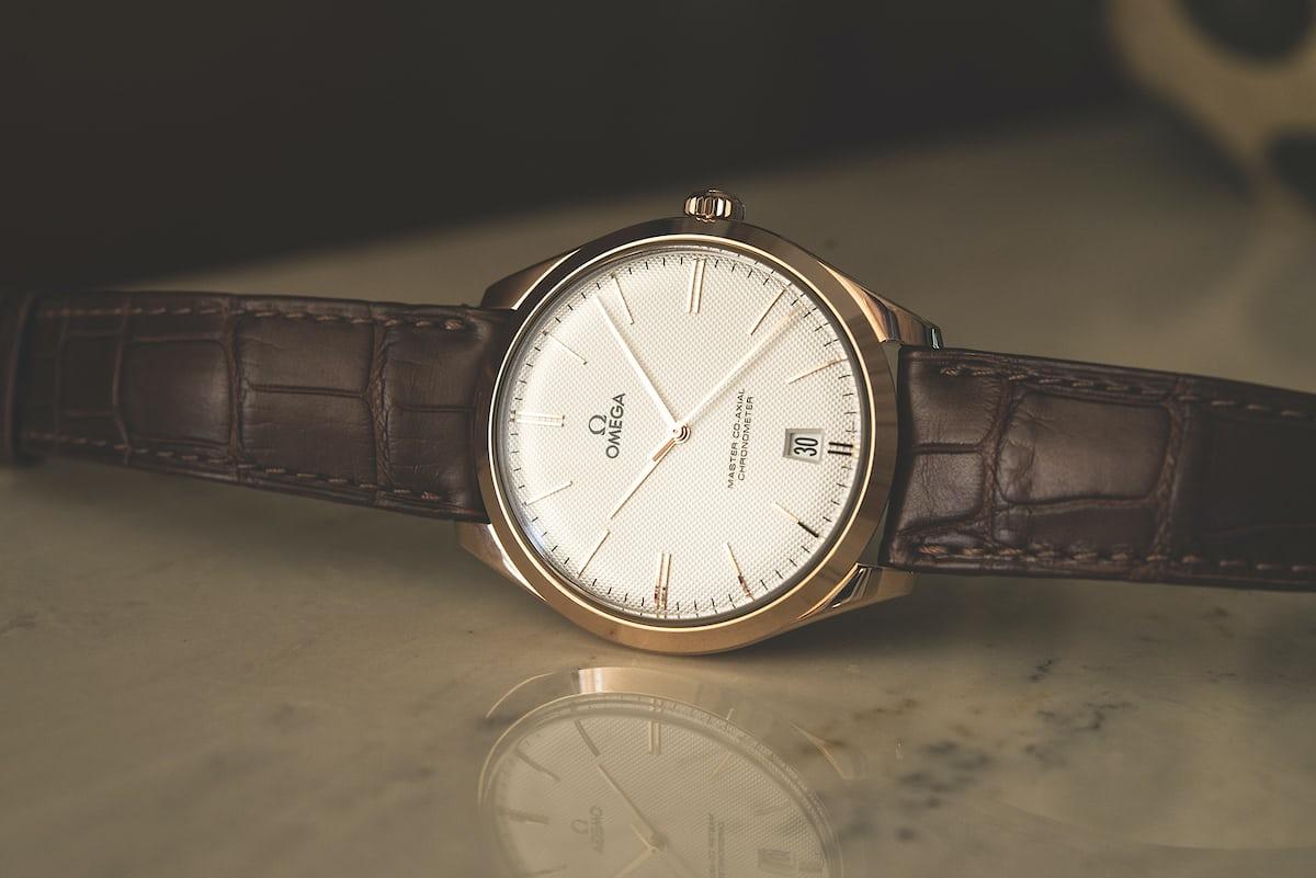 a week on the wrist the omega de ville tr233sor hodinkee