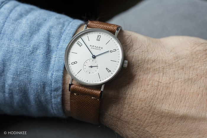 The Value Proposition The Nomos Tangente Hodinkee