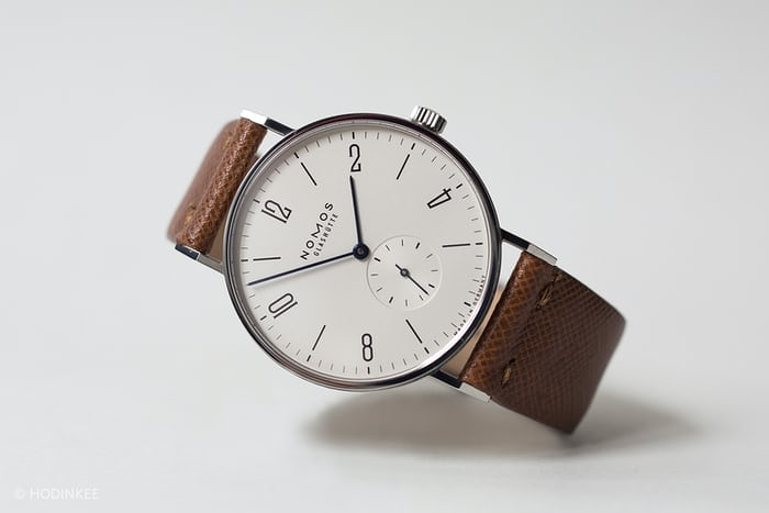 The value proposition the nomos tangente for Minimal art wrist watch