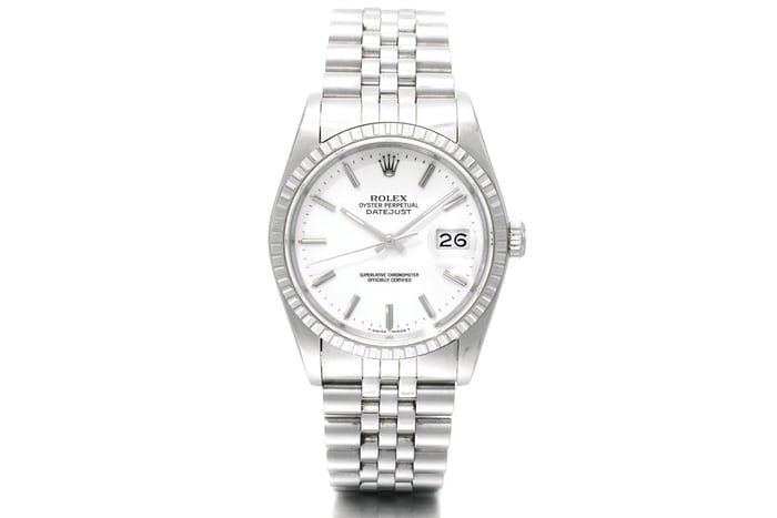 silver white texture a week on the wrist the rolex datejust