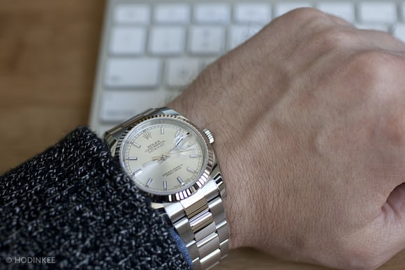 A Week On The Wrist: The Rolex DatejustRolex Datejust 36mm On Wrist