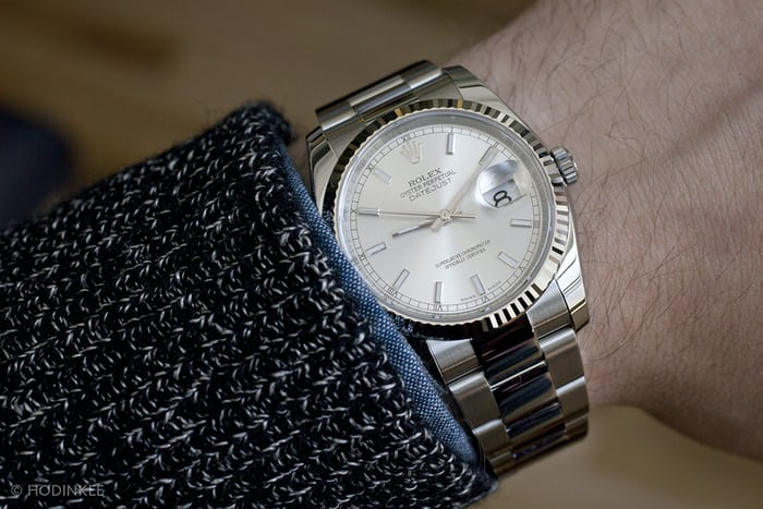 A Week On The Wrist: The Rolex Datejust - HODINKEERolex Datejust 36mm On Wrist