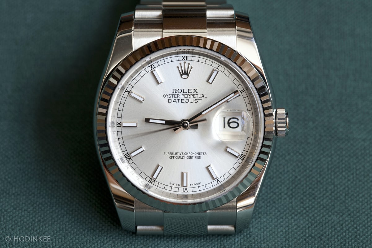 Modern Rolex And Vintage Are Typically Two Very Separate Worlds With Little Overlap But The 36mm Datejust
