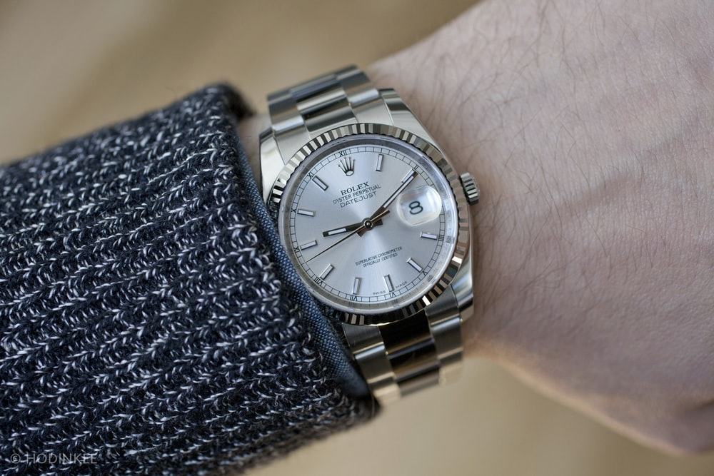 Recommended Reading: U.K. Study Into Rolex Ownership ...Rolex Datejust 36mm On Wrist