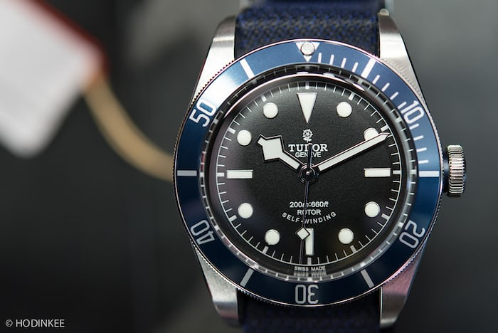 380e611b0bd Hands-On With The Tudor Heritage Black Bay With Blue Bezel (And Your First  Chance To Buy One In The USA)