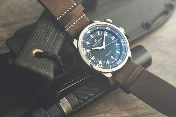 A Week On The Wrist The Maurice Lacroix Pontos S Diver