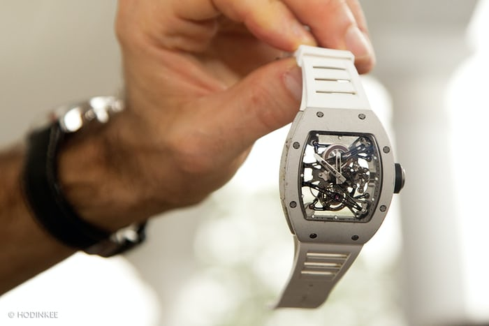 Masters Auto Sales >> Watch Spotting: Bubba Watson Wearing A Richard Mille RM038 ...