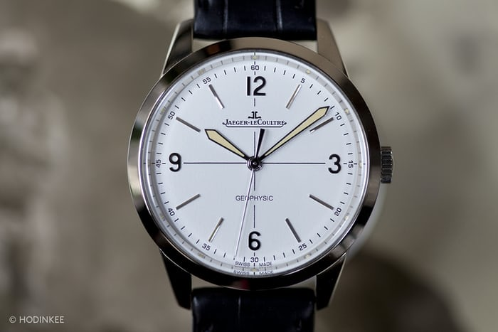 In depth introducing the jaeger lecoultre geophysic 1958 live photos full specs official for Geophysic watches
