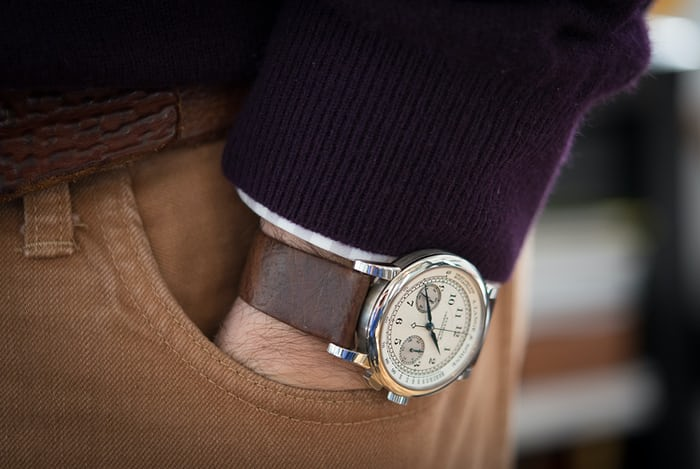 Introducing The Gj Cleverley For Hodinkee Limited Edition