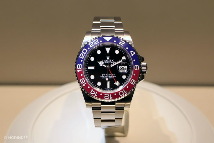 Your First Look At The New Rolex Gmt Master Ii In White Gold With