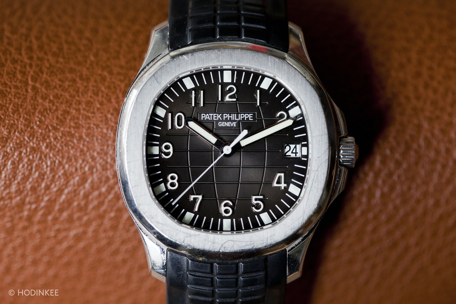 An original Patek Phillipe Aquanaut.  The Eight Watch Anniversaries You Need To Know In 2017 The Eight Watch Anniversaries You Need To Know In 2017  img