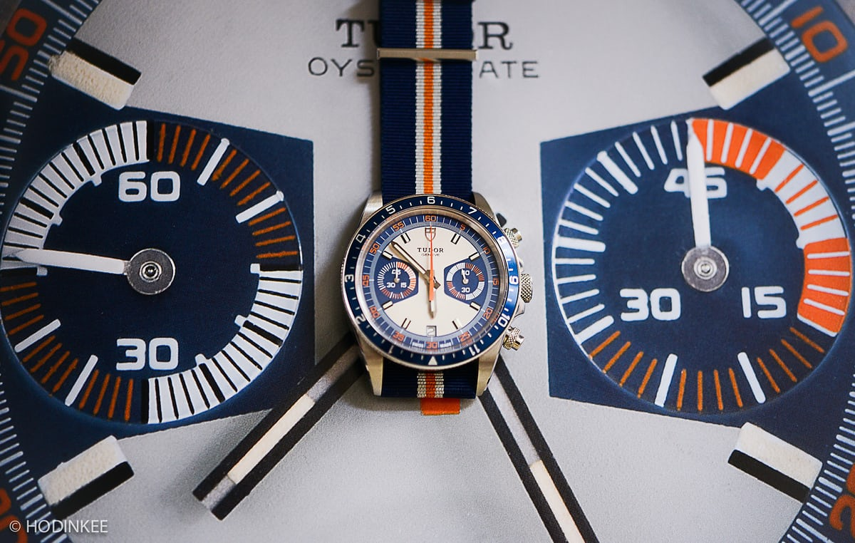 a1eea841c But the new Heritage Chrono Blue is not a literal homage to the 7169, nor  is it exactly the existing Heritage Chronos simply with different colors.