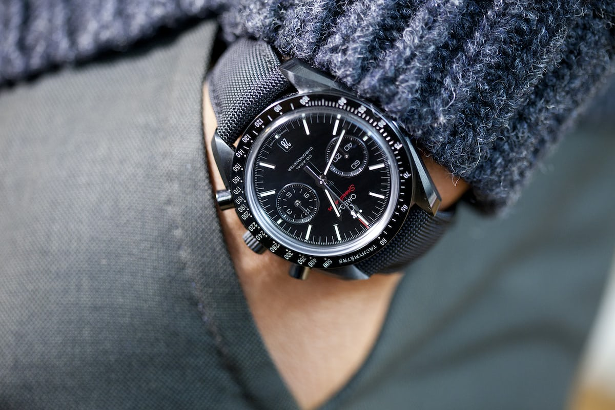 55 Best Images About Watch Free On Pinterest: A Week On The Wrist: The Omega Speedmaster Dark Side Of