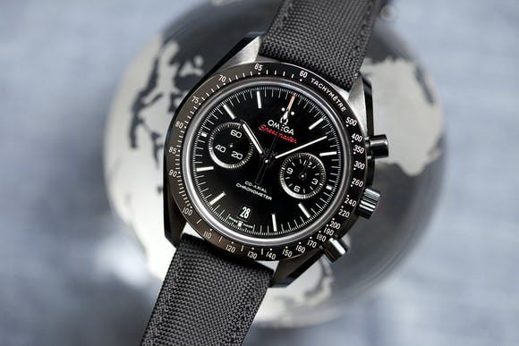 A Week On The Wrist The Omega Speedmaster Dark Side Of