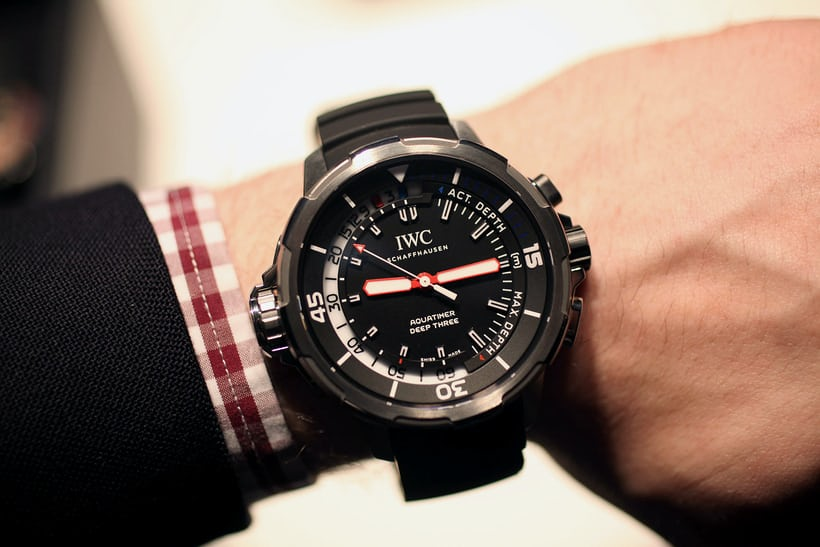IWC Aquatimer Deep 3, 2014.