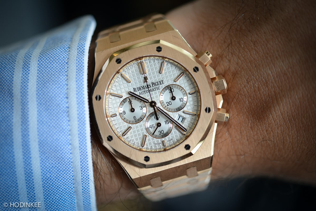 A Week On The Wrist The Audemars Piguet Royal Oak Chronograph Hodinkee