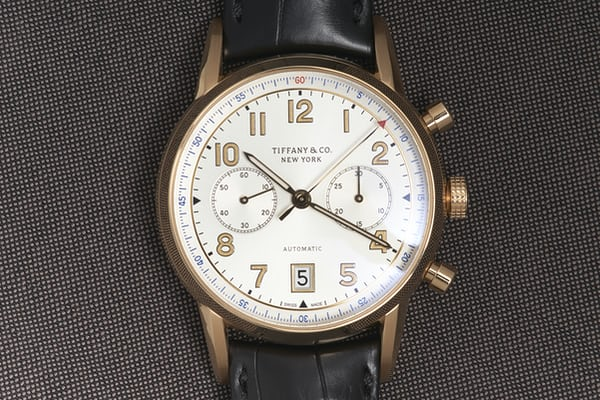 b4eced54c20 The pricing for the chronographs will be $6,750 on leather strap in steel,  $7,250 on a steel bracelet, and $15,000 in solid rose gold.