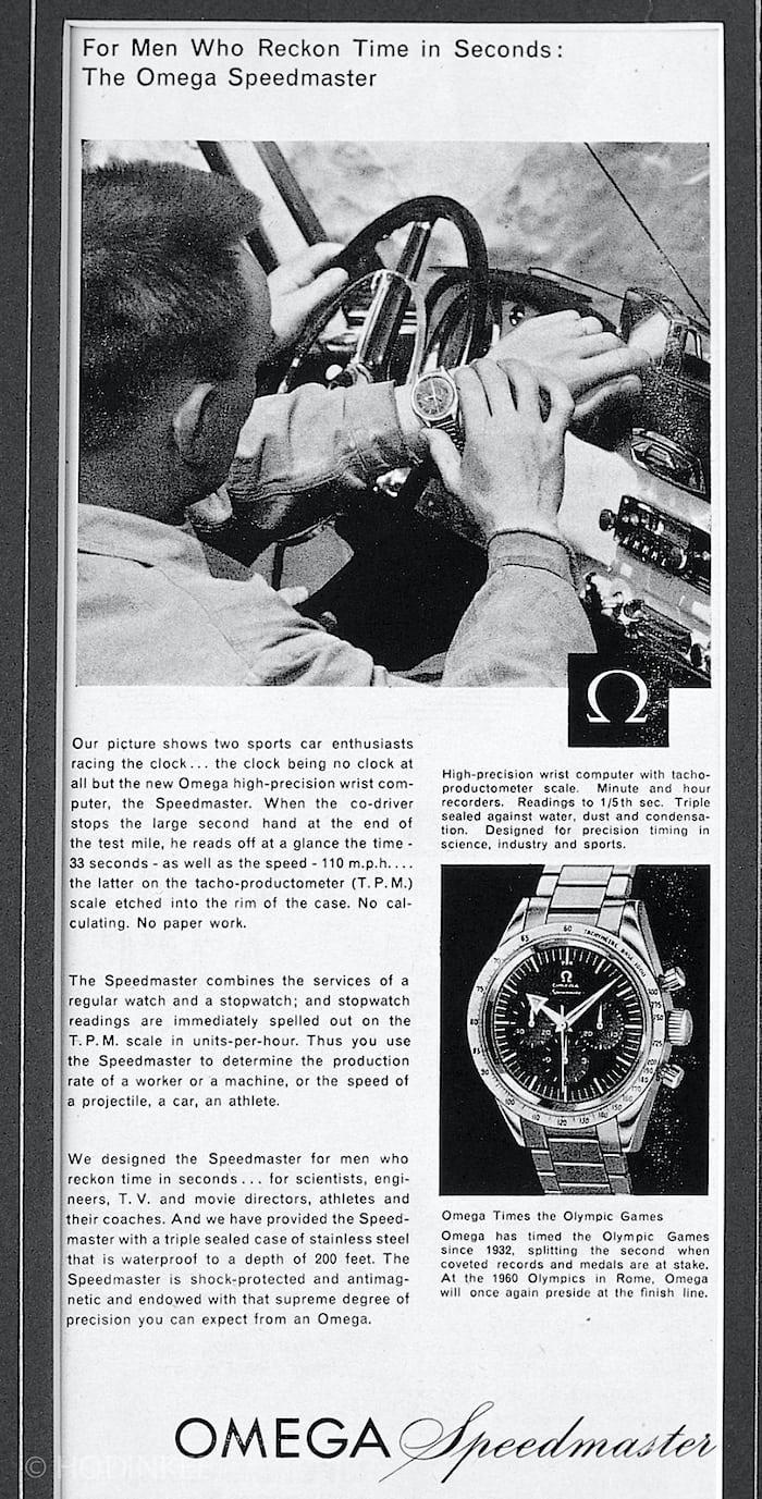 Omega Speedmaster Advertisement 2915