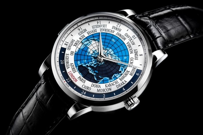 montblanc world timer 2014