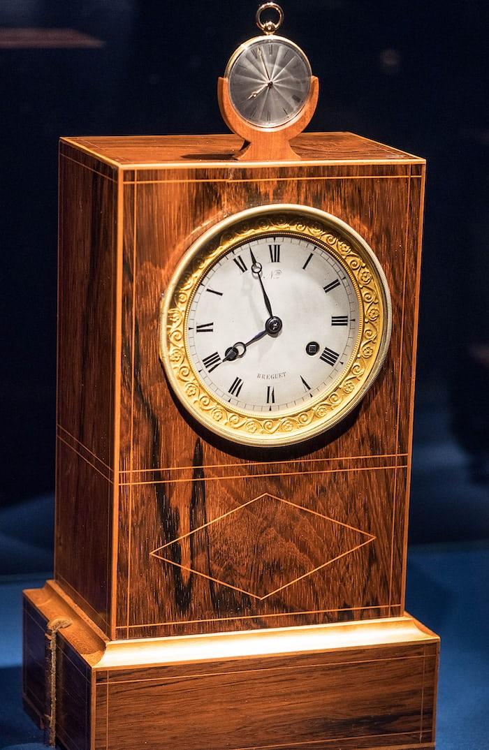 "Breguet ""Sympathique"" Clock and Pocket Watch"