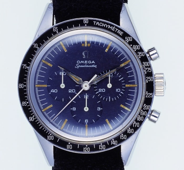 Astronaut Wally Schirra's personal Omega Speedmaster Reference 2998