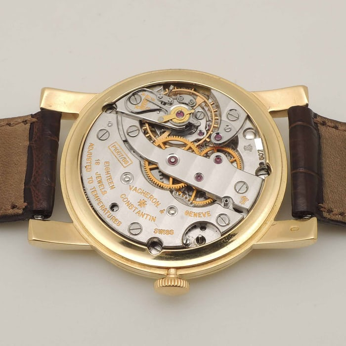 Chronometre Royal Vacheron Constantin Reference 4838 Movement Caliber 1007/BS 1007 1008