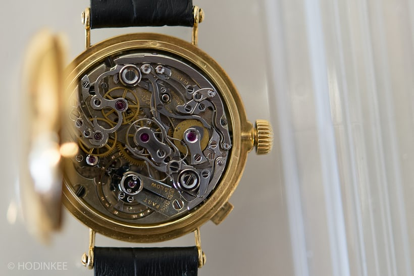 Piguet ebauche in Patek chronograph
