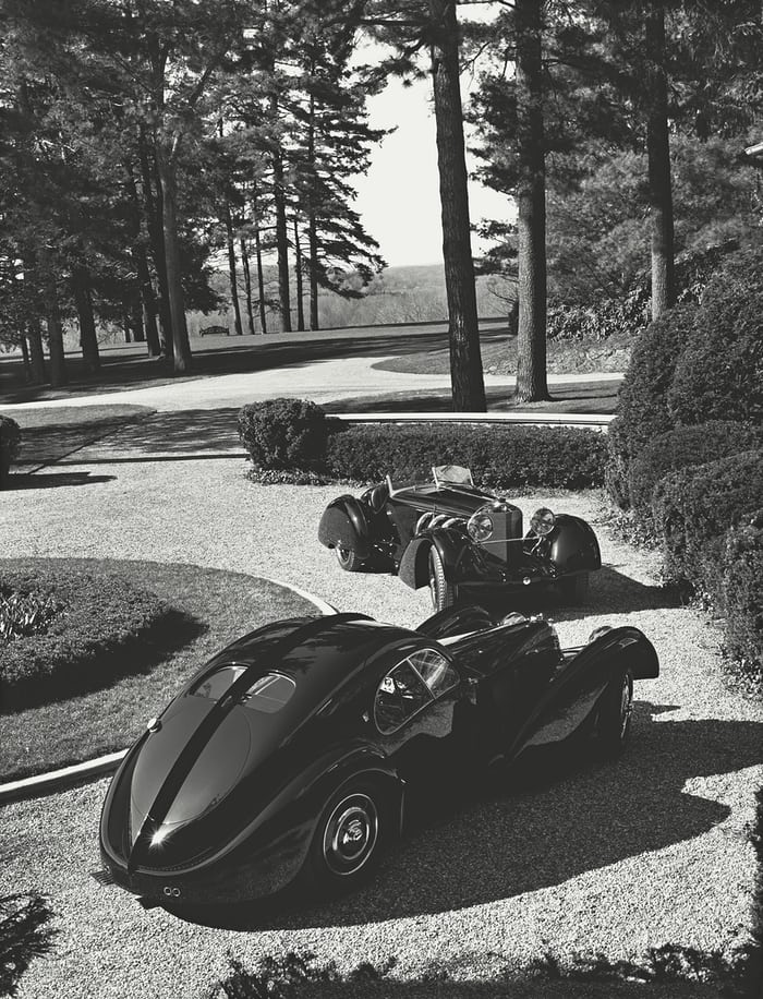 ralph lauren bugatti type 57SC atlantic coupe
