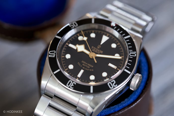 A Week On The Wrist The Tudor Heritage Black Bay Black Reference