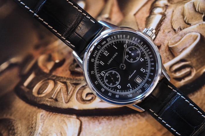Longines Column-Wheel Single Push Piece Chronograph Ref. L2.800.4.53.0