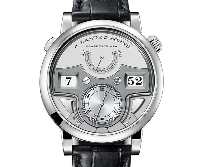 Lange Zeitwerk Minute Repeater