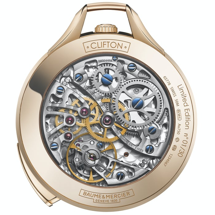 Clifton 1830 Baume & Mercier Five Minute Repeater