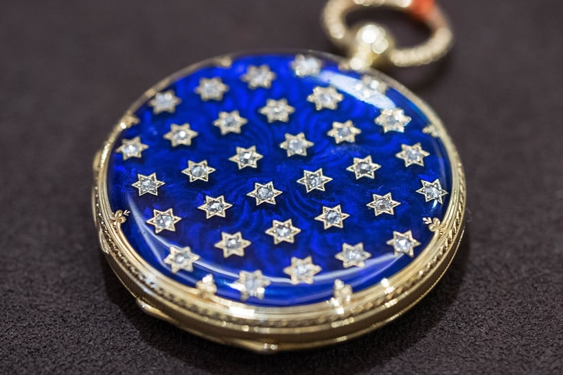 Patek Philippe Diamond And Enamel Pendant Watch Mid-19th Century