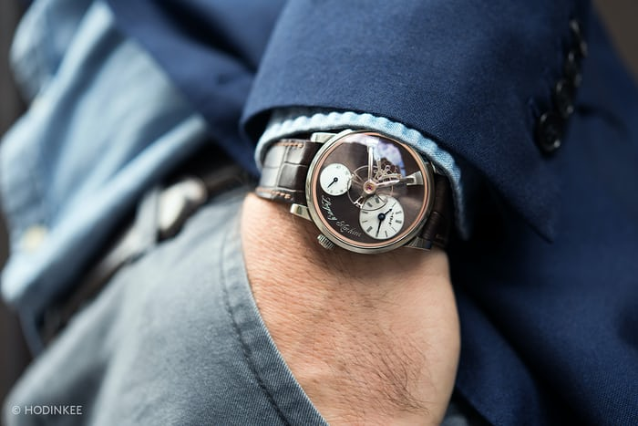 MB&F LM101 For HODINKEE