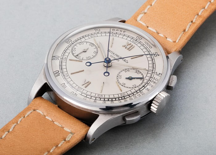 Lot 169 - PATEK PHILIPPE 1436, Stainless steel, 1945