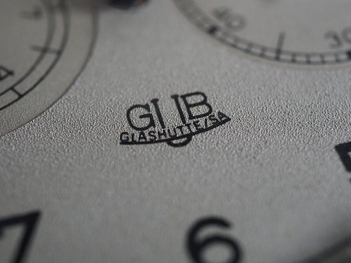 GUB pocket watch dial