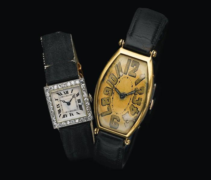 Vintage Cartier Tonneau