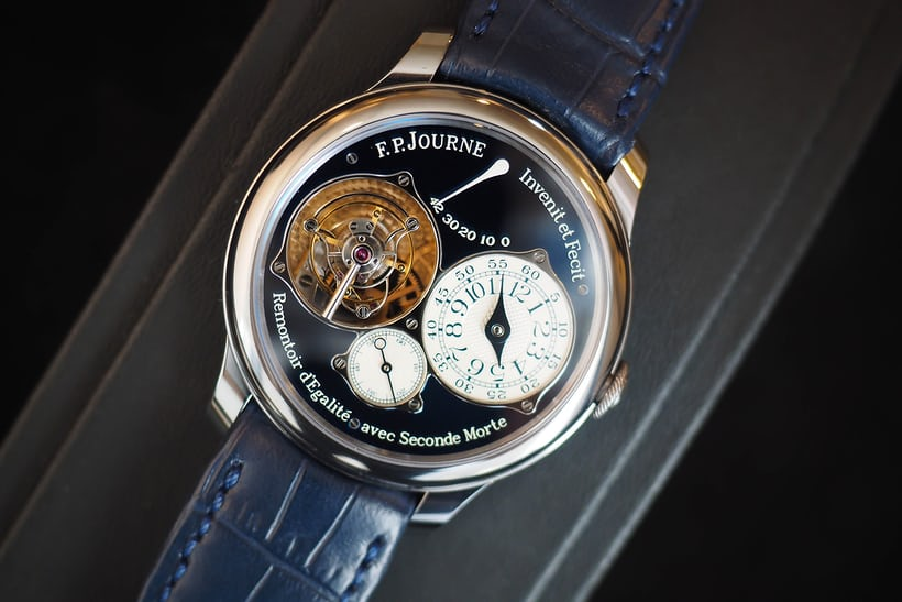 F. P. Journe Tourbillon Souverain Bleu for Only Watch 2015