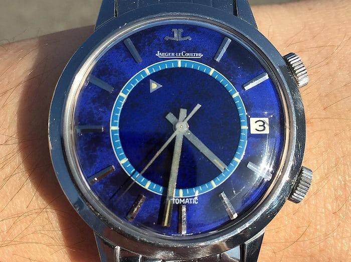 Jaeger-LeCoultre Memovox Blue Dial