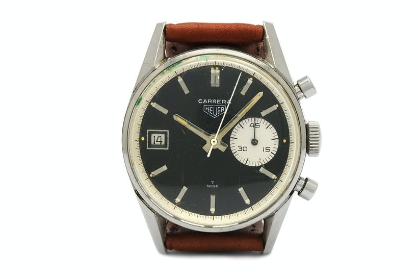 Heuer Dato Second Generation Reference 3147