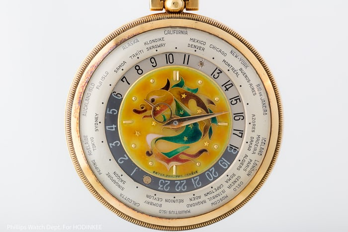 Patek Phiilippe Reference 605 HU Cloisonné