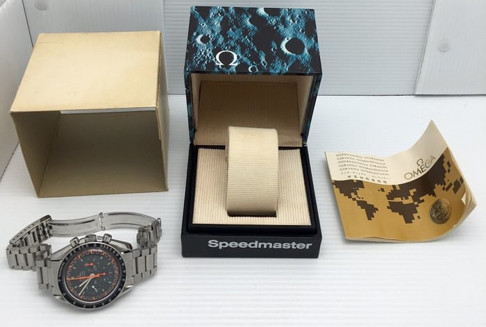 Omega Speedmaster Reference 145.022 Racing Dial Box and Papers
