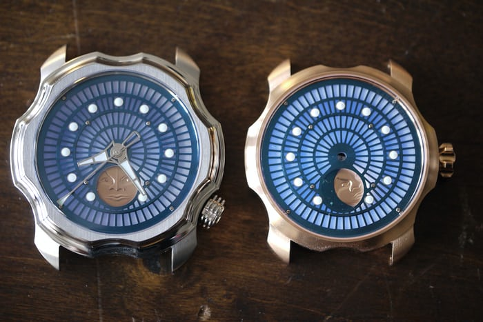 Sarpaneva Northern Lights in red gold