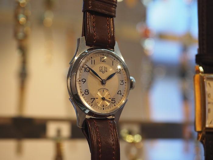 Watch produced by VEB Glashütter Uhrenbetriebe (GUB)
